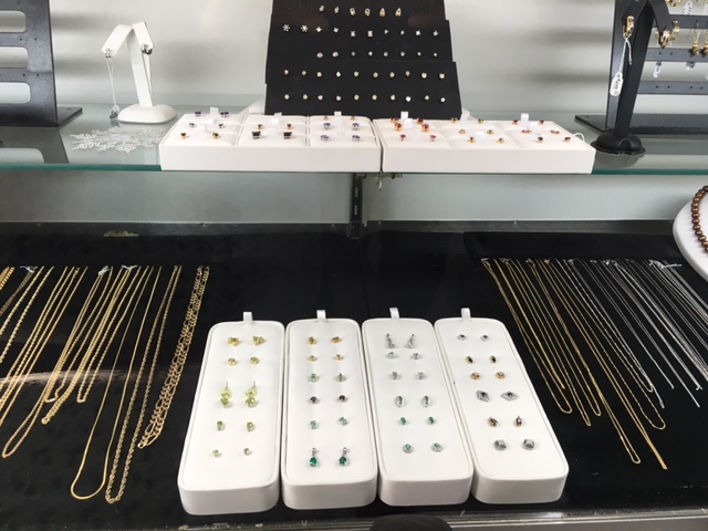 Fine Jewelry Store in Festus & Crystal City; earring display